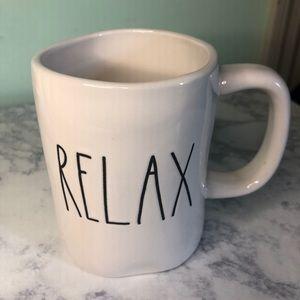 "Rae Dunn ""RELAX"" mug"